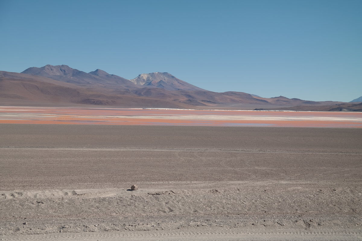 At Laguna Colorada