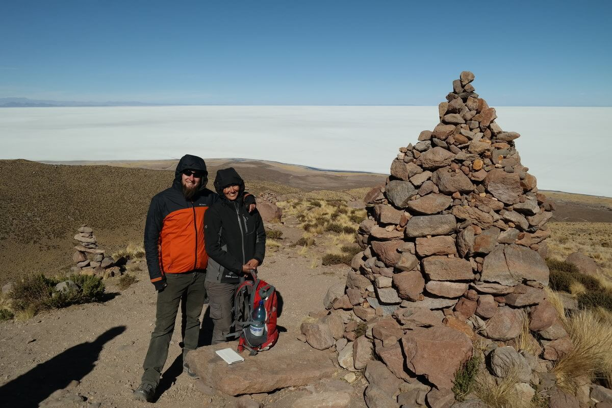 Uyuni - Honza and Alex